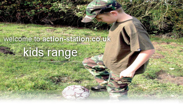 childrens camouflage clothing uk