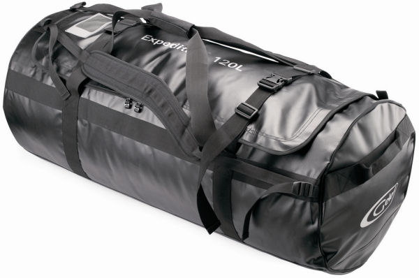Outdoor Accessories : Travel Cargo Bags : Black Cargo Bag - Expedition 120 Litre