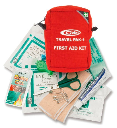 Camping Equipment : Safety and Survival : First Aid Kit - Travel Pack 1