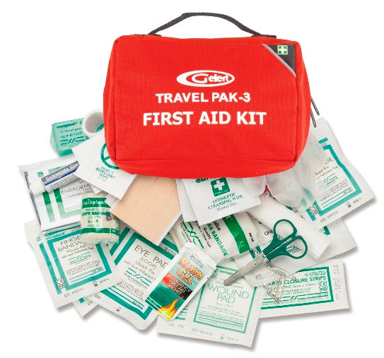Camping Equipment : Safety and Survival : First Aid Kit - Travel Pack 3