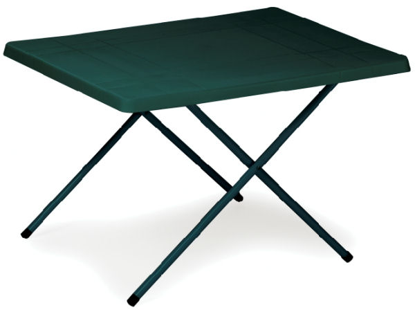 High Camping Picnic Table With Resin Top Camping Equipment