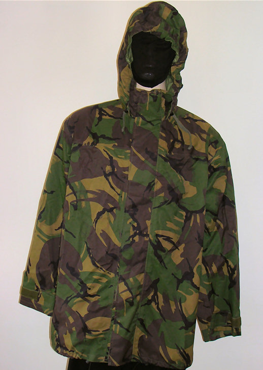 Waterproof Clothes : Waterproof Jackets - Army Surplus and New : British Soldier 95 Gore-Tex Jacket