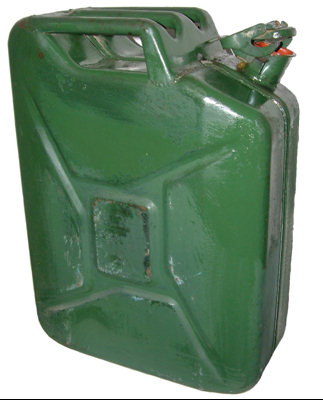 Hardware and Kit : Miscellaneous Army Surplus & Military : 20 Litre Jerry Can
