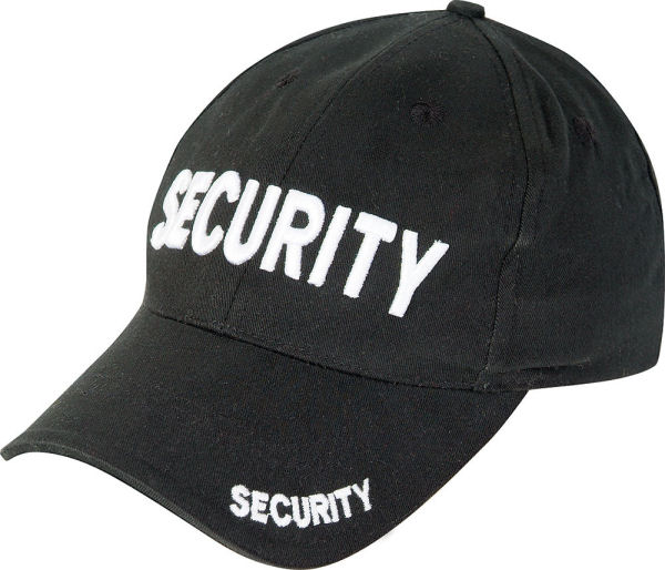 General Clothing : Headwear & Scarves : Security Baseball Cap