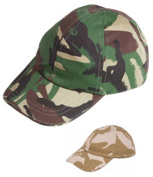 Children's Camo Baseball Cap