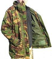 Waterproof Clothes : Waterproof Jackets - Army Surplus and New : Dutch Camouflage Gore-Tex Jacket