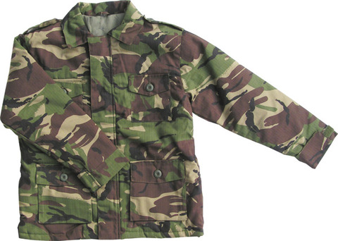 General Clothing : Kids Camo Clothing : Children's DPM Camo Padded Jacket