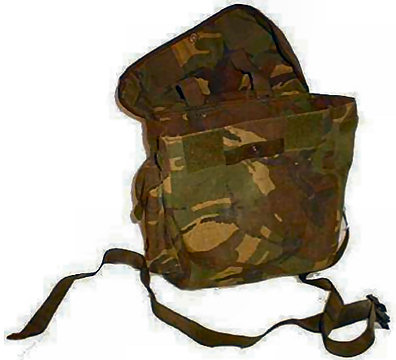 Hardware and Kit : Miscellaneous Army Surplus & Military : British Army DPM Respirator Bag
