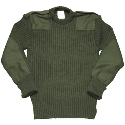 General Clothing : Fleeces & Jumpers : British Army Wooly Pully Jumper