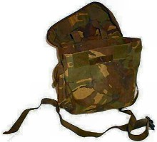 British Army DPM Respirator Bag - super grade