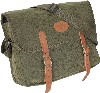 Dog bag with leather fastenings in a choice of Green Duotex, Brown Duotex or English Oak Camo.Height 20cm-Width 39cm-Depth 10cm-Strap 128cm long max-