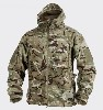A fantastic heavy weight, super fine 390g/m Sq fleece with an authentic military look and feel. Adorned with features that you'd expect on a much more expensive jacket i.e. under arm zip venting, peaked hood with storm adjustment, draw cord hem, rear poachers / mag pocket, YKK zips, 2 large hand warmer / front pockets, bicep and forearm zipped pockets and velcro insignia patches.A very smart jacket with little out there to match it.